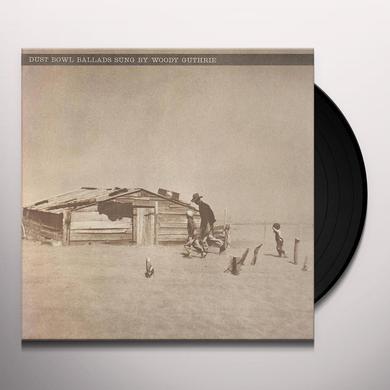 Woody Guthrie DUST BOWL BALLADS Vinyl Record