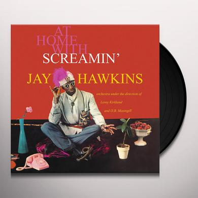 AT HOME WITH SCREAMIN JAY HAWKINS Vinyl Record
