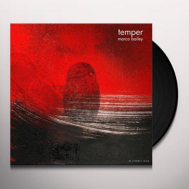 Marco Bailey TEMPER Vinyl Record
