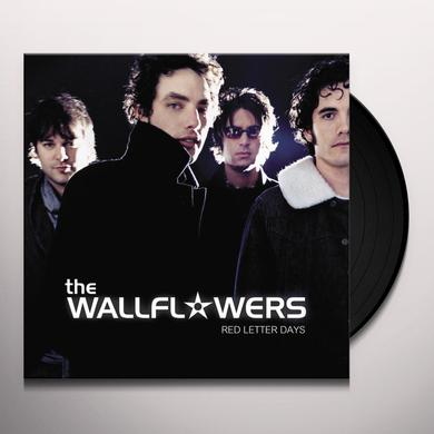 Wallflowers RED LETTER DAYS Vinyl Record