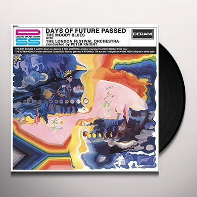The Moody Blues DAYS OF FUTURE PASSED Vinyl Record