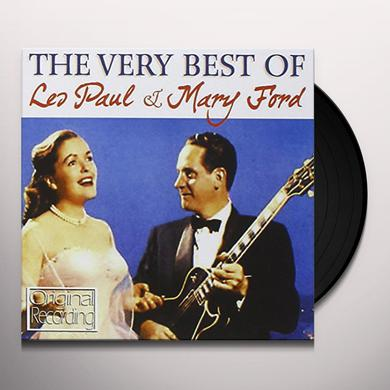 Les Paul / Mary Ford VERY BEST OF LES PAUL & MARY FORD Vinyl Record