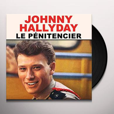 Johnny Hallyday LE PENITENCIER Vinyl Record
