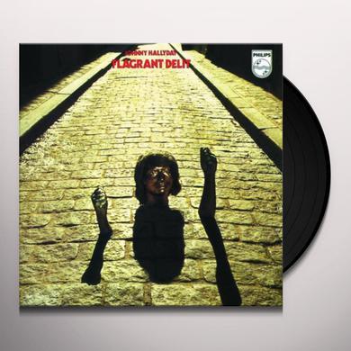 Johnny Hallyday FLAGRANT DELIT Vinyl Record