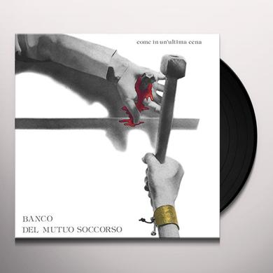 Banco Del Mutuo Soccorso COME IN UN'ULTIMA CENA (COLORED VINYL) Vinyl Record