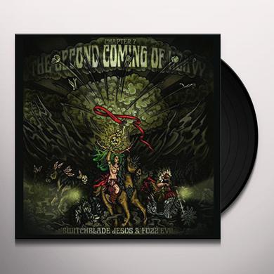 SECOND COMING OF HEAVY CHAPTER 7: SWITCHBLADE JESUS & FUZZ EVIL Vinyl Record