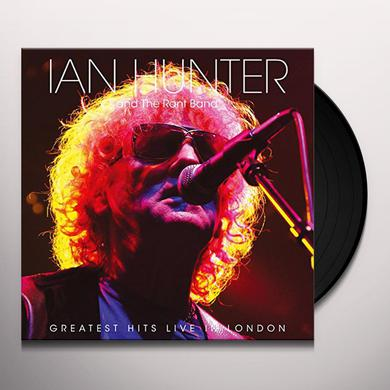 Ian Hunter GREATEST HITS LIVE IN LONDON Vinyl Record