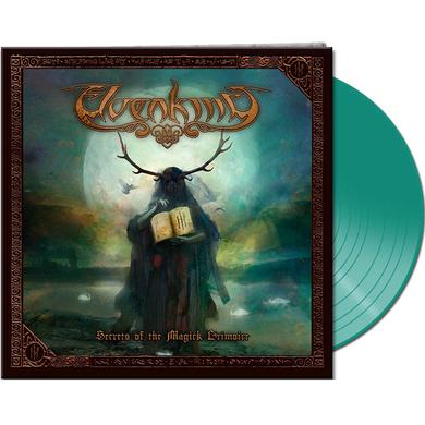 Elvenking SECRETS OF THE MAGICK GRIMOIRE (CLEAR GREEN VINYL) Vinyl Record