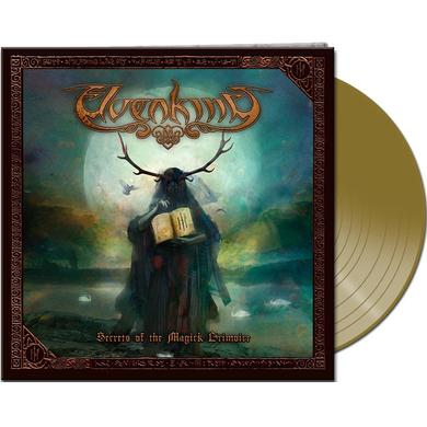 Elvenking SECRETS OF THE MAGICK GRIMOIRE (GOLD VINYL) Vinyl Record