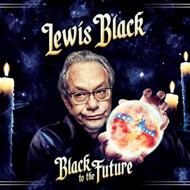 Lewis Black BLACK TO THE FUTURE Vinyl Record