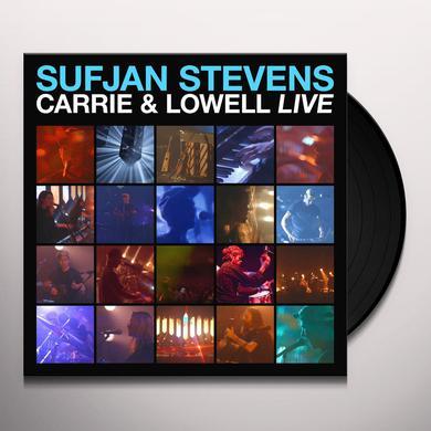 Sufjan Stevens CARRIE & LOWELL LIVE Vinyl Record