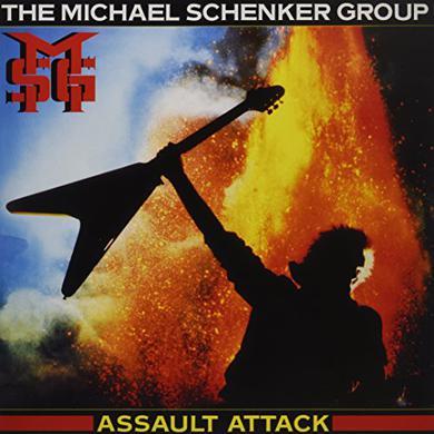 Michael Schenker ASSAULT ATTACK Vinyl Record