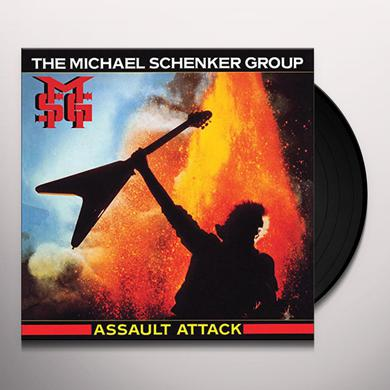 Michael Schenker ASSAULT ATTACK (PICTURE DISC VINYL) Vinyl Record