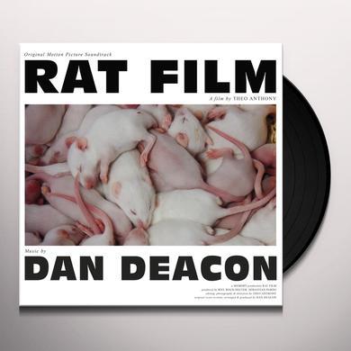 Dan Deacon RAT FILM (ORIGINAL FILM SCORE) Vinyl Record