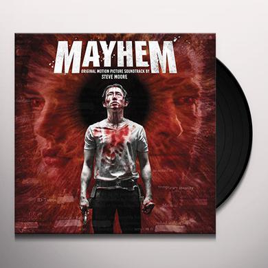 Steve Moore MAYHEM - O.S.T. Vinyl Record