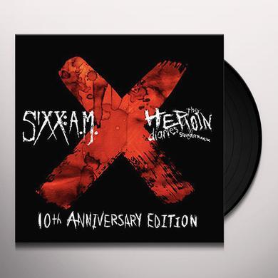Sixx:A.M. HEROIN DIARIES SOUNDTRACK: 10TH ANNIVERSARY ED Vinyl Record