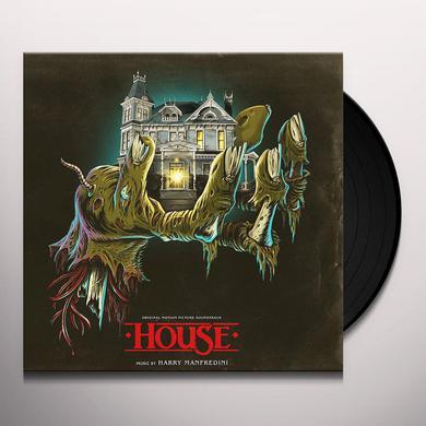 Harry Manfredini HOUSE 1 & 2 / O.S.T. Vinyl Record