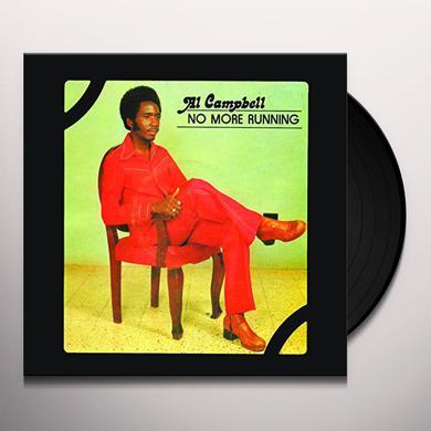 Al Campbell NO MORE RUNNING Vinyl Record