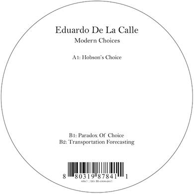 Eduardo De La Calle MODERN CHOICES Vinyl Record