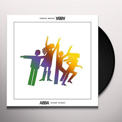 ABBA: THE SINGLES (COLORED VINYL) Vinyl Record