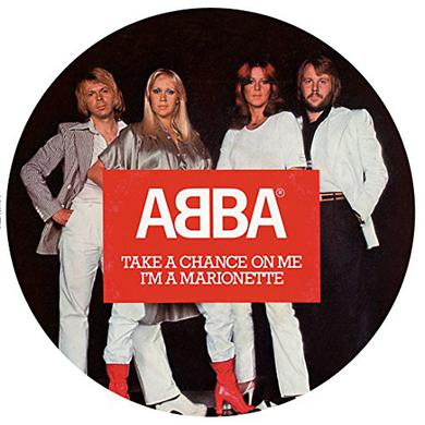 Abba TAKE A CHANCE ON ME (PICTURE DISC) Vinyl Record