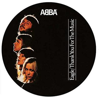 Abba EAGLE / THANK YOU FOR THE MUSIC (PICTURE DISC) Vinyl Record