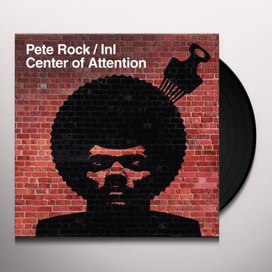 Pete Rock INI - CENTER OF ATTENTION Vinyl Record