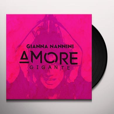 Gianna Nannini AMORE GIGANTE Vinyl Record