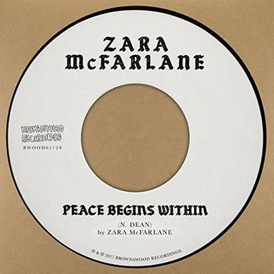Zara Mcfarlane PEACE BEGINS WITHIN Vinyl Record