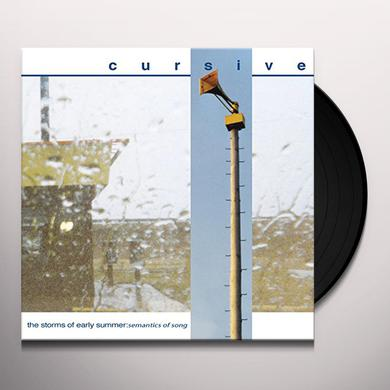 Cursive STORMS OF EARLY SUMMER: SEMANTICS OF SONG Vinyl Record