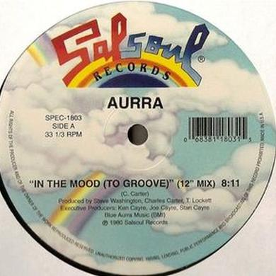 Aurra IN THE MOOD / WHEN I COME HOME Vinyl Record