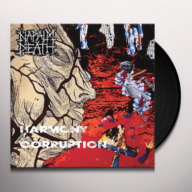 Napalm Death HARMONY CORRUPTION Vinyl Record