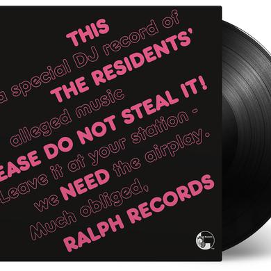 Residents PLEASE DO NOT STEAL IT Vinyl Record
