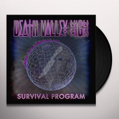 Death Valley High SURVIVAL PROGRAM Vinyl Record