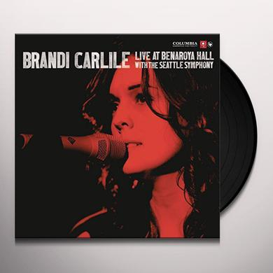 Brandi Carlile LIVE AT BENAROYA HALL (WITH THE SEATTLE SYMPHONY) Vinyl Record