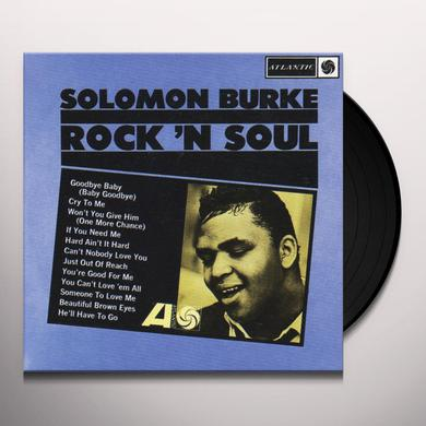 Solomon Burke ROCK N SOUL Vinyl Record