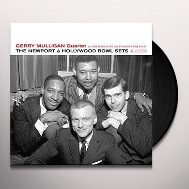 Gerry Quartet Mulligan NEWPORT & HOLLYWOOD BOWL SETS Vinyl Record