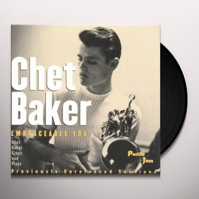 Chet Baker EMBRACEABLE YOU Vinyl Record