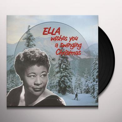 Ella Fitzgerald ELLA WISHES YOU A SWINGING CHRISTMAS Vinyl Record