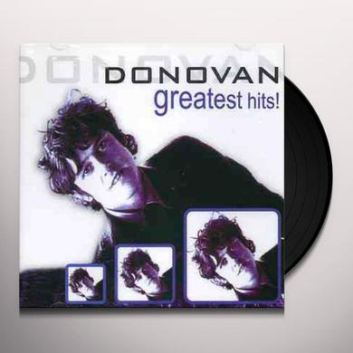 Donovan GREATEST HITS (1969) Vinyl Record