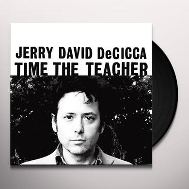 Jerry David Decicca TIME THE TEACHER Vinyl Record
