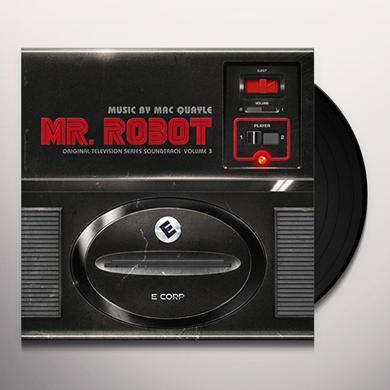 Mac Quayle MR ROBOT 3 - O.S.T. Vinyl Record