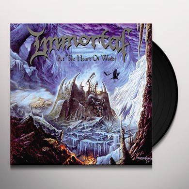 Immortal AT THE HEART OF WINTER Vinyl Record