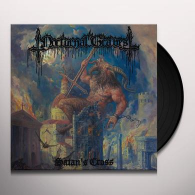 Nocturnal Graves SATAN'S CROSS Vinyl Record