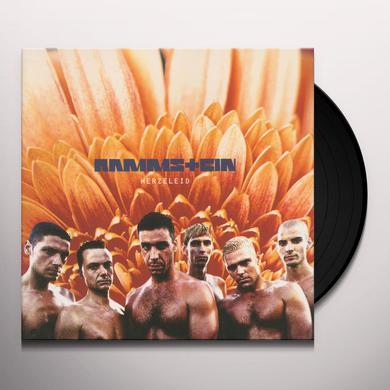 Rammstein HERZELEID Vinyl Record
