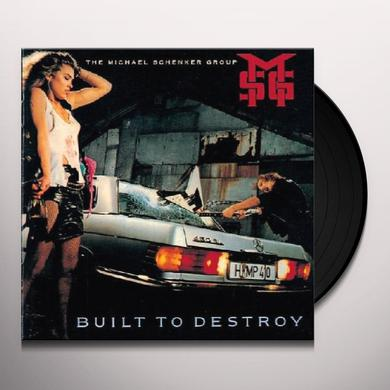 Michael Schenker BUILT TO DESTORY Vinyl Record