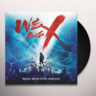 X Japan WE ARE X SOUNDTRACK Vinyl Record