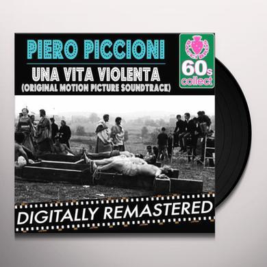 Piero Piccioni UNA VITA VIOLENTA / O.S.T. Vinyl Record