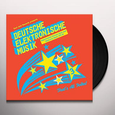 Soul Jazz Records Presents DEUTSCHE ELEKTRONISCHE MUSIK 3: EXPERIMENTAL Vinyl Record