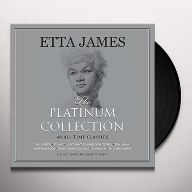 Etta James PLATINUM COLLECTION Vinyl Record